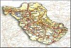 Χάρτης Νομού Σερρών