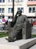 Μνημείο του Γεωργίου Καφτατζή στην πλατεία ΙΚΑ  - πηγή ΝΕΠΟΣ